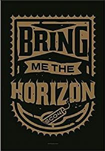 Bring Me The Horizon  Dynamite Shield  large fabric poster / flag 1100mm x 750mm (hr)